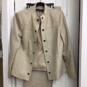 KASPER lined  pant suit